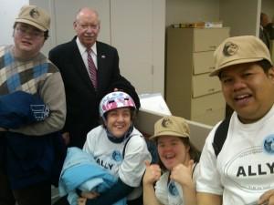 Didlake Self-Advocates Rally at Virginias Capitol