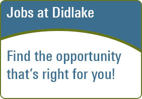Jobs at Didlake Find the opportunity that's right for you!