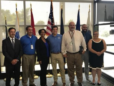 Congressman Scott Taylor visits Sewell's Point to meet Didlake employees