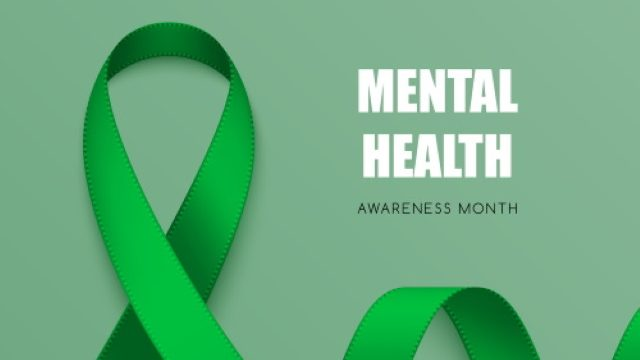 Green Ribbon Mental Health Awareness Month Message