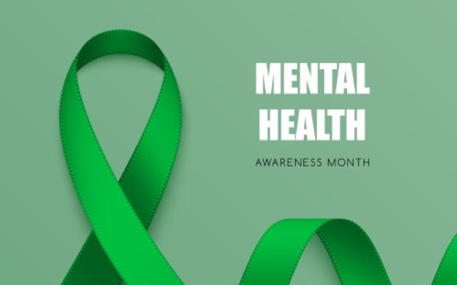 Green Ribbon Mental Health Awareness Month Message