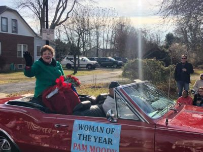 Didlake Chairwoman Pam Moody Rides In Christmas Parade