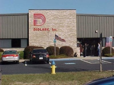 Front of the Didlake corporate headquarters building in the 1990's