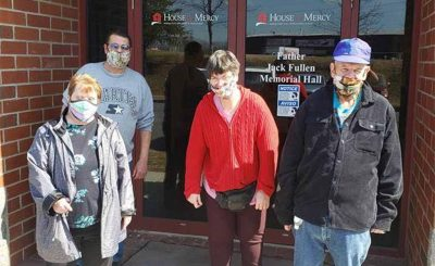 Didlake Day Support Program volunteers at House of Mercy in Manassas, Virginia.
