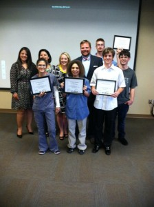 Graduates of the Manassas Project SEARCH program