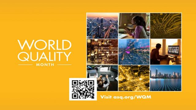 World Quality Month celebrated throughout the month of November